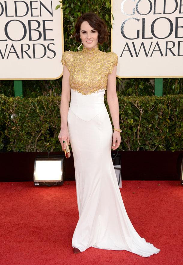 vestido-globo-de-ouro-Michelle-Dockery-in-Alexander-Vauthier