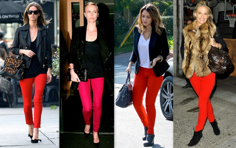 red jeans trend1