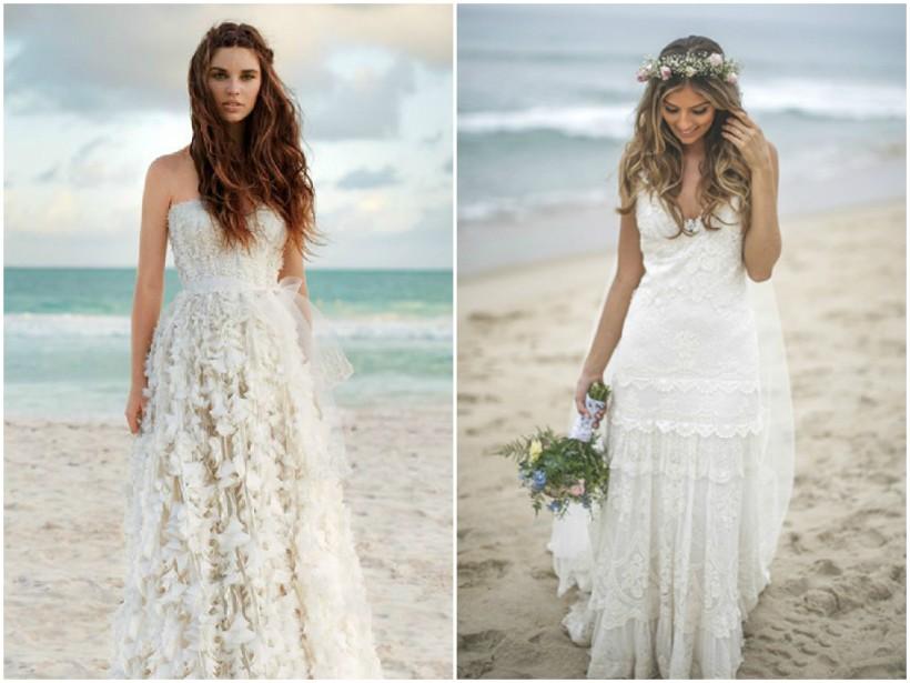 Vestido de noiva praia 1