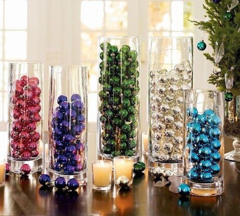 decoracion-con-bolas-navideñas