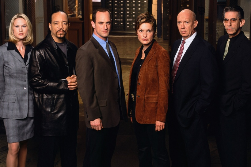 Law-and-Order-SVU-Stephanie-March-Ice-T-Christopher-Meloni-Mariska-Hargitay-Dann-Florek-Richard-Belzer-NBC-Getty-051415